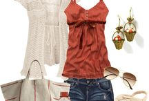 Summer Closet/Orange or Coral  / by Kim Boyette