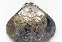 Silver Heron Studios - Fine Art , Handpainted Jewelry , and Coin Jewelry