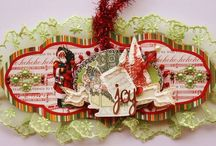 Christmas Tags - Webster paper