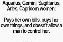 Zodiac women