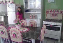 Crochê cozinha