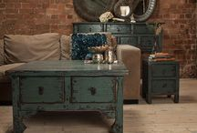 Puji Statement Painted Furniture / Create a focal point in your home interior with gorgeous painted furniture
