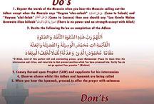 aadaab in Islam