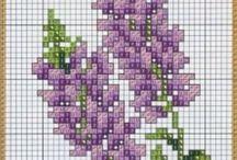 Вышивка. Цветы