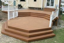 Outdoor Living / We sell a variety of composite decking and rail systems to make your backyard or front porch another beautiful extension of your home.