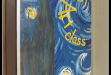 Teaching Art - Room Organization / by Monica Talley