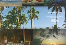 Web Design - travel