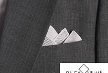 My Favorite Pocket Squares / Handmade designer Pocket Squares
