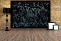 Contemporary Wallpaper Collection - WallArt - Digital Handmade Artwork / Contemporary Wallpaper Collection #wallpaper #wallcovering #WallPaperArt.gr