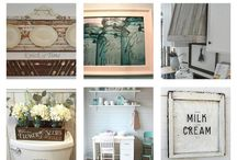 Farmhouse style, decorating, interior design