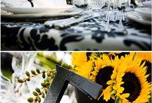 Bord og blomster