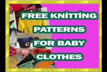 KNİT BABY CLOTHES FREE PATTERN
