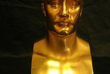 Gold Sculptures