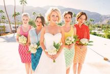 Wedding - bridesmaids mood board