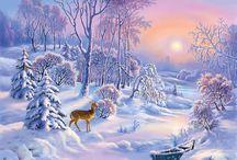 Зима Россия