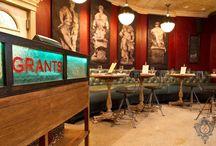 Grants Restaurant, West Hartford, CT / Grants Restaurant, West Hartford, CT   Kellie Burke Interiors