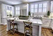 Remodel in Historic District / This is a kitchen remodel in the Historic District.  It shows how it doesn't have to be huge space to have beauty, function, and style- while keeping with the historic integrity of the home.
