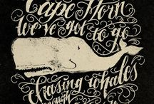 Moby Dick, Fishes, Old Man and The Seas