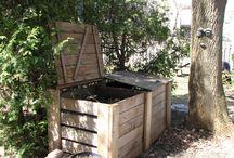 Compostage & amendements / Compost aérobie classique, vermicompost faussement appelé lombricompost, bokashi