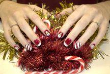 Christmas Nail art / #christmas #nail #art #winter #2013 #nailart #ilovenails #festivenails #christmasnails #biosculpturegel