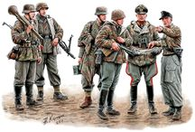 "WWII Uniforms / ""The soldier's dirty uniform is still more glamorous than the impeccable fake of the liar diplomats!"""