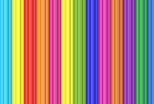 papíry barevné