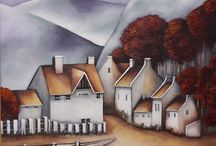 Artist - Yvonne Shackell artist and art teacher from South Africa.
