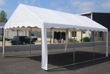 Chapiteaux / Des tentes de réception tubulaires pour les particuliers et les professionnels