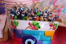 HAZAL 1 Yaşında doğumgünü partisi / Reinbow birthday party