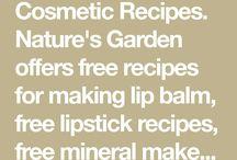 Skincare recipes