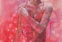 Paintings red / Paintings red