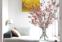 Flowers - Flores / Flowers decoration ideas - Ideias para decorar com flores
