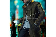 Watch Dogs Leather Jacket/Coat