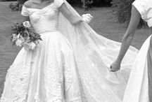 Wedding dress Icons / Iconic dresses that have hit the media for being beautifully made and worn by famous brides.