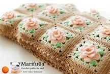 petits carrés fleurs