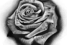 Rózsás tetoválások