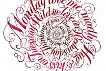 Calligraphy, the art of letters