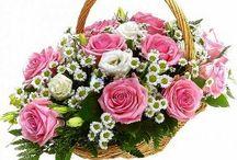 kvetinový kôš