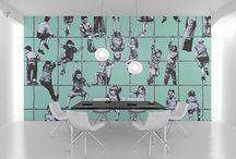 Social Wall Art