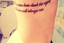 Ink my whole body.  / by Ashlee White