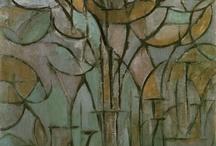 Art - Mondrian - Trees