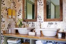 Cuartos de baño empapelados