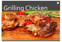 Grilled Chicken / Grilling chicken can be a wonderful change from baking or frying. Plank grilling chicken can add flavor and amp it up to restaurant style.