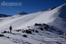 Mt. Sabalan 4811m ski winter 2017 / 0