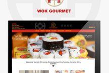 Dissenart: Diseño Web Restaurante Wok Gourmet  / En Dissenart hemos desarrollado el diseño y la programación web de la página del restaurante Wok Gourmet de Valencia  www.dissenart.com