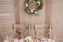 Sweetheart Tables / Ideas
