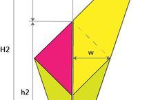 Kite shape shawl