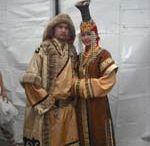 Tall hats Mongolia...