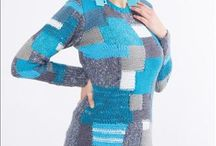 Pletená móda / #artplanet #handmade #original #fashion #móda #svetr #sweater #cardigan #knitwear #pletená móda