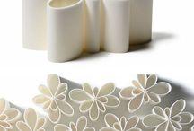 Clay vase pretty